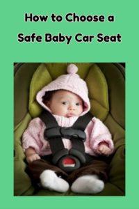 safe baby car seat