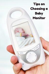 Choosing a baby monitor