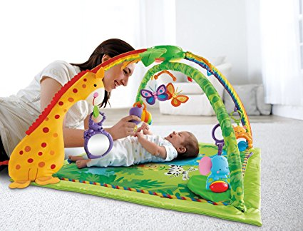 Fisher Price Rainforest Melodies And Lights Deluxe Gym Review