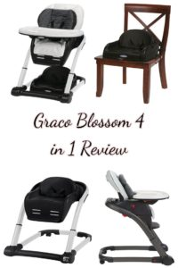 Graco Blossom 4 in 1 review