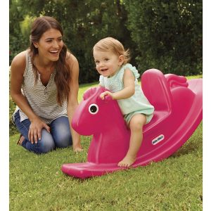 Christmas gifts for toddlers - Little Tikes Rocking Horse magenta