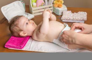 Change a diaper
